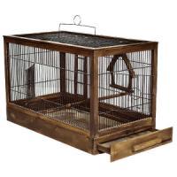 Фотография товара Клетка для птиц Дарэлл Ретро - Кантри, 3 кг, размер 71х33.5х51см., палисандр