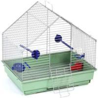Фотография товара Клетка для птиц Велес Lusy Fly, 1 кг, размер 30х42х10см., хром