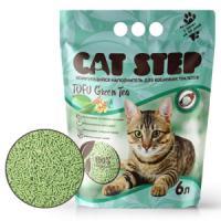 Фотография товара Наполнитель для кошачьих туалетов Cat Step Tofu Green Tea, 2.7 кг