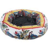 Фотография товара Лежак для собак Родные Места Ватрушка Звезда Востока, 1 кг, размер 50x50x15см.