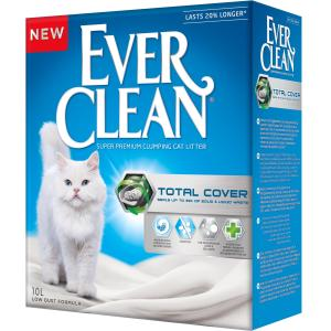Наполнитель для кошачьего туалета Ever Clean Total Cover, 10 кг