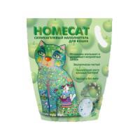 Фотография товара Наполнитель для кошачьих туалетов Homecat Зеленое яблоко, 3.5 кг