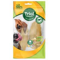 Фотография товара Лакомство для собак Triol Ботинок, 15 г, сыромятная кожа, 2 шт.