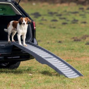Пандус для собак Trixie Petwalk Folding Ramp, размер 39х150см., серый