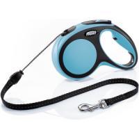 Фотография товара Рулетка для собак Flexi New Comfort M Cord, синий