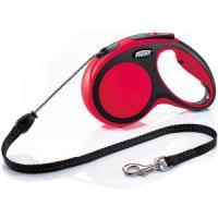 Фотография товара Рулетка для собак Flexi New Comfort M Cord, красный