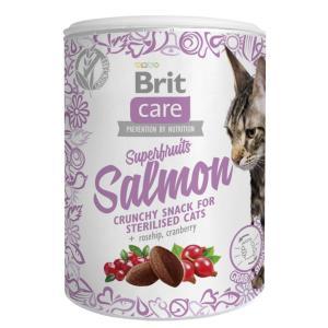 Лакомство для кошек Brit Care Superfruits Salmon, 120 г, лосось