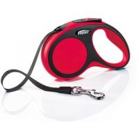 Фотография товара Рулетка для собак Flexi New Comfort S Tape, красный