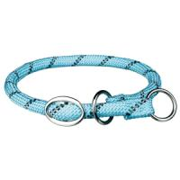 Фотография товара Ошейник-удавка для собак Trixie Sporty Rope M, светло-синий