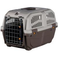 Фотография товара Бокс-переноска для собак и кошек MPS Skudo 1, размер 1, размер 30х32х49см., серо-коричневый