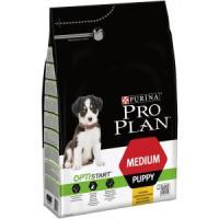 Фотография товара Корм для щенков Pro Plan Puppy Medium, 3 кг, курица с рисом