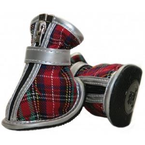 Обувь для собак Triol 077YXS, размер 6, размер 9.5см., красный