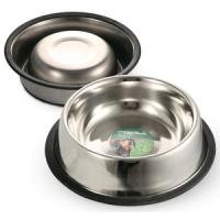 Фотография товара Миска для собак Triol 1502, 94 г, размер 15.5х15.5х3.5см.