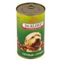 Фотография товара Корм для собак Dr. Alder's, 1.24 кг, сердце и рубец