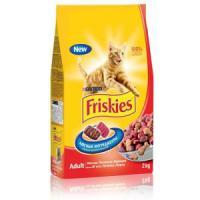 Фотография товара Корм для кошек Friskies Мясное ассорти, 2 кг, мясо с печенью и курицей