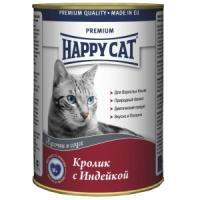Фотография товара Корм для кошек Happy Cat, 400 г, кролик с индейкой