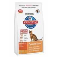 Фотография товара Корм для кошек Hill's Adult Optimal Care, 2 кг, курица