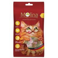 Фотография товара Лакомство для кошек Molina MIX, 35 г, рыба, водоросли, дичь