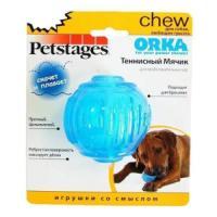 Фотография товара Игрушка для собак Petstages Орка Теннисный мяч, размер 6см.