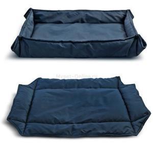 Лежанка для собак Triol Комфорт M, размер 78х61см., синий