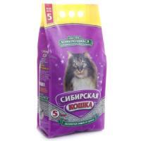 Фотография товара Наполнитель для кошачьего туалета Сибирская кошка Экстра, 3.1 кг