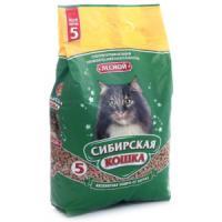 Фотография товара Наполнитель для кошачьего туалета Сибирская кошка Лесной, 3.1 кг
