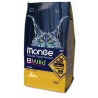 Фотография товара Корм для кошек Monge Bwild Cat Hare, 1.5 кг, кролик