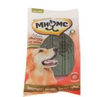 Фотография товара Лакомство для собак Мнямс Зубные палочки, 123 г, размер 12см., 6 шт.