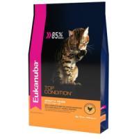 Фотография товара Корм для кошек Eukanuba Top Condition, 10 кг, курица