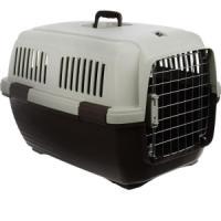 Фотография товара Переноска для собак и кошек Marchioro Clipper Cayman, размер 3, 2.6 кг, размер 64х43х43см., бежево-коричневый