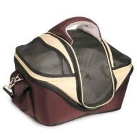 Фотография товара Сумка-переноска для собак и кошек Triol S, размер 40х35х30см., бежево-коричневый
