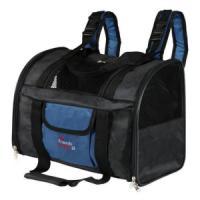 Фотография товара Сумка-рюкзак для собак и кошек Trixie Connor, размер 42х29х21см., черно-синий