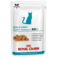 Фотография товара Корм для кошек Royal Canin VetCN Skin and Coat Formula , 100 г