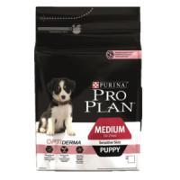 Фотография товара Корм для щенков Pro Plan Puppy Medium Sensitive Skin, 3 кг, лосось