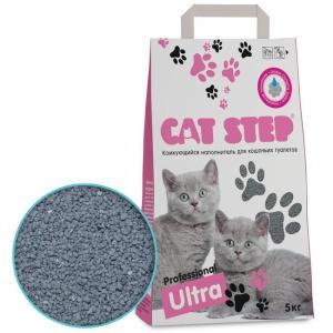 Наполнитель для кошачьего туалета Cat Step Professional Ultra, 5 кг