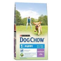 Фотография товара Корм для щенков Purina Dog Chow Puppy Junior, 14 кг, ягненок с рисом