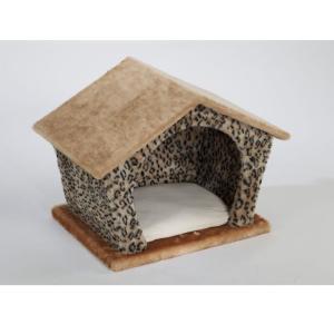 Домик для собак и кошек Велес Изба, размер 45х35х40см., цвета в ассортименте