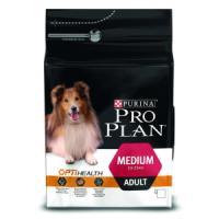 Фотография товара Корм для собак Pro Plan Medium Adult, 3 кг, курица с рисом