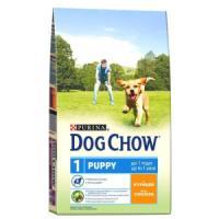Фотография товара Корм для щенков Purina Dog Chow Puppy Junior, 14 кг, курица