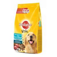 Фотография товара Корм для собак Pedigree, 2.2 кг, говядина