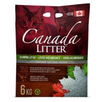 Фотография товара Наполнитель для кошачьего туалета Canada Litter Запах на замке, 6 кг