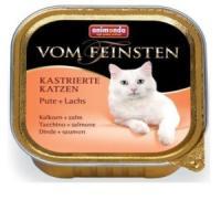 Фотография товара Корм для кошек Animonda Vom Feinsten, 100 г, индейка с лососем