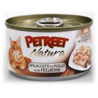 Фотография товара Консервы для кошек Petreet Natura, 70 г, куриная грудка с печенью