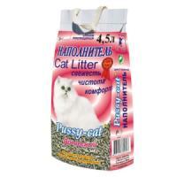 Фотография товара Наполнитель для кошачьего туалета Pussy-cat, 2.5 кг