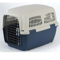 Фотография товара Переноска для собак и кошек Marchioro Clipper Cayman, размер 4, 4.69 кг, размер 71х50х51см., бежевый/синий