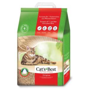 Наполнитель для кошачьего туалета Cat's Best Original, 8.6 кг