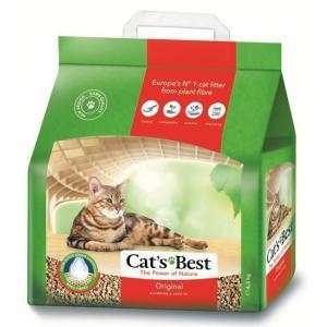 Наполнитель для кошачьего туалета Cat's Best Original, 4.3 кг