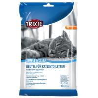 Фотография товара Пакеты уборочные для кошачьих туалетов Trixie Simple'n'Clean XL, 295 г, размер 56x71см.