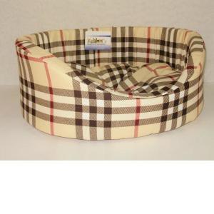 Лежак для собак Бобровый дворик, размер 5, размер 71х53х20см., цвета в ассортименте