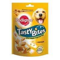 Фотография товара Лакомство для собак Pedigree Tasty Bites, 130 г, курица